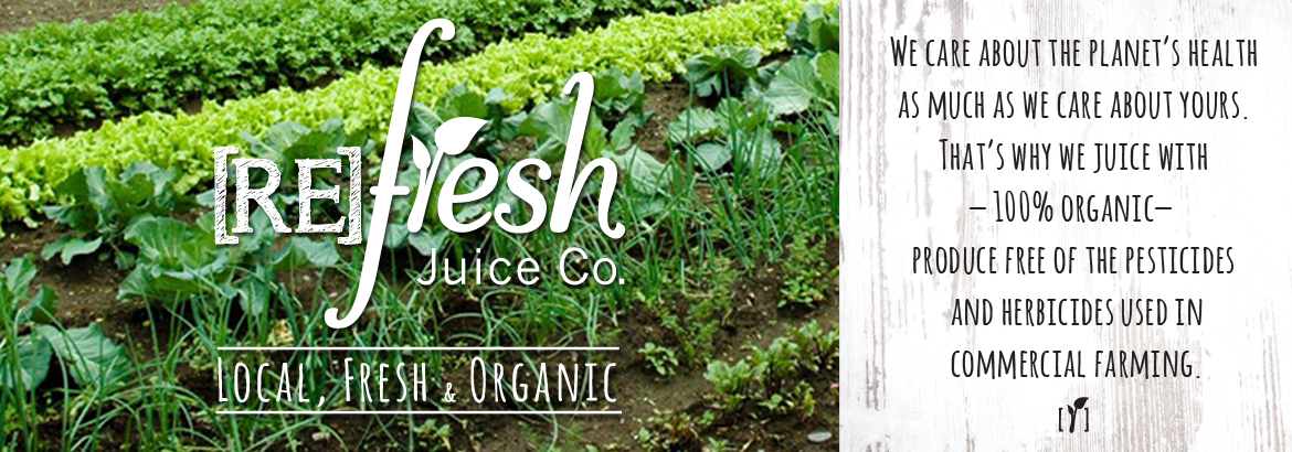 [RE] Fresh Juice Co Header